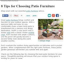 outdoor patio furniture in indianapolis
