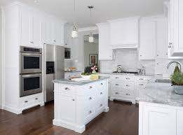 attractive super white quartzite countertops transitional kitchen mb xw68