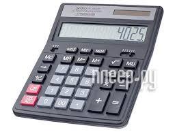 <b>Калькулятор Perfeo Black</b> PF_A4025, цена 42 руб., купить в ...