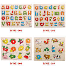educational toys wooden pegboard wooden puzzle abc puzzle babies kids toys walkers on carou