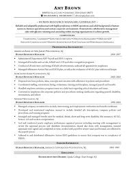 Template Sample Resume Human Resources Executive New Template Free