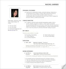 most effective resume format 2016 curriculum ...