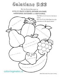 Fruit Of The Spirit Coloring Pages Fruit Spirit Coloring Page Photos