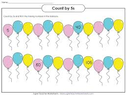 Count By 7s Chart Skip Counting Worksheets