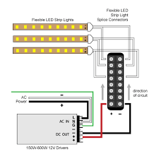 8 way hard wire splitter to 300w and 600w 12v driver diagram led 8 way hard wire splitter to 300w and 600w 12v driver diagram