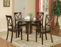 round dining room sets for 4. Antique Round Dining Table Set For 4 Eva Furniture Black Glass C Inside Inspirations 16 Room Sets G