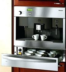 Built In Espresso Machine Coffee Systems View Gallery System Interior  Design Hand Stainless S
