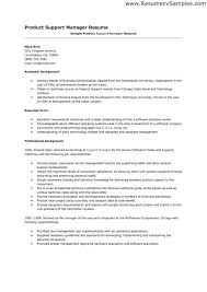 Resume For It Support Manager Krida Info