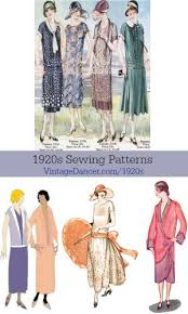 1920s Dress Patterns Delectable 48s Patterns Vintage Reproduction Sewing Patterns