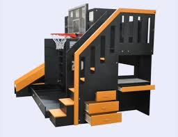 creative kids furniture. And I Know My Brothers Would Have Gone Crazy For The Log Cabin Sports-themed Bunk Beds. Image Creative Kids Furniture