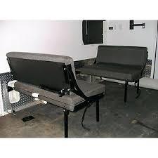 hide away dinette sofa bed toy hauler wall mounted bunk beds folding uk for trailer elegant