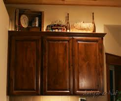 Over Cabinet Decor Antique Or Not Decorating Above Your Cabinets