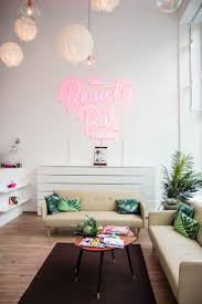 Lash Extensions Studio or Salon Decor