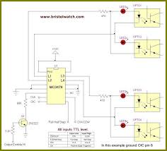 mc3479 universal stepper motor control diagram