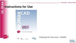 Emax Cad Firing Chart Ips E Max Cad C16 Larger Size Block Low Translucency Shades