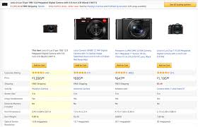 Amazon Product Comparison Chart Designing The Perfect Feature Comparison Table Smashing