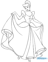 Small Picture Cinderella Coloring Pages 3 Disney Coloring Book