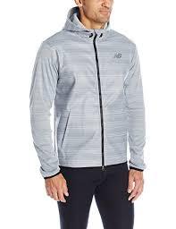 new balance intensity jacket. new balance men´s kairosport jacket mj63035-ag, grey, medium from intensity