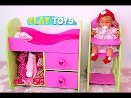 Baby Doll Nursery toy set Stroller toy pram for dolls High