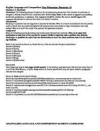 ap synthesis essay english ap lang comp org ap language synthesis essay bully documentary ap english