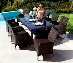 Rattan Lounge Mit Esstisch Rattan Lounge Giardino Macchiato Set Xl