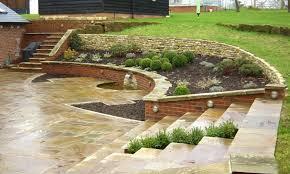 Small Picture slope garden design ideas sloped landscape design ideas