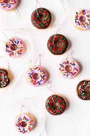 diy salt dough donut ornaments