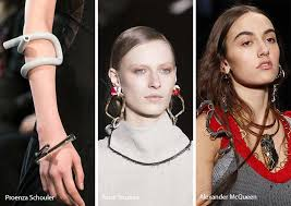 fall winter 2017 2018 jewelry trends twisted rocky jewelry