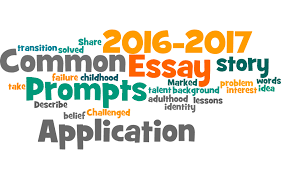 common application essay prompts applying to college