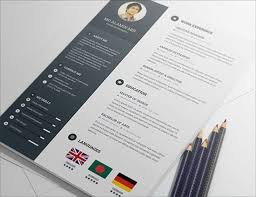 Creative Free Resume Templates 20 Creative Free Resumecv Templates To Download  Free