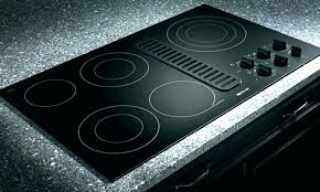 countertop range electric stove electric range gas with downdraft ceramic throughout design downdraft countertop electric range