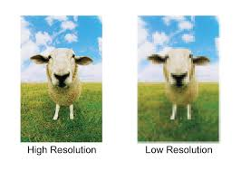 In Graphic Design How Are High Resolution And Low Different