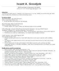 Resume Templates For Career Change Career Change Objective Resume