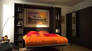 Orange And Black Bedroom Bedroom Orange Black Bedroom Design With Simple Murphy Bed Ideas