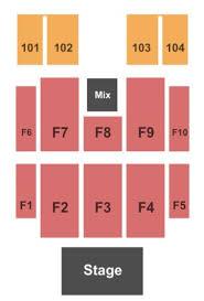 Cox Business Center Ballroom Seating Chart Cox Business Center Ballroom Tickets In Tulsa Oklahoma
