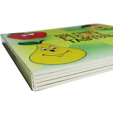 High Quality Activity Book For Kid Learning With Bulk Printing Service Lovely Cartoon Fruit Character For Childrens Cognition Buy Fruit Learning