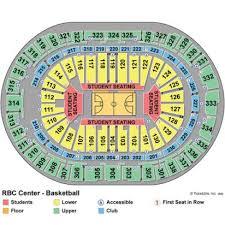 pnc arena seating chart basketball