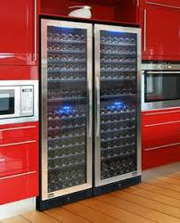 vinotemp wine fridge. Vinotemp Adds Blu™, Wine Cooler Interior Lighting, As A Standard Feature For Its Designer Series Line Of Coolers Fridge