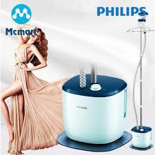 Bàn ủi hơi nước đứng Philips GC516 (Xanh phối trắng ) - Tương đương GC518 giá  rẻ 1.759.000₫