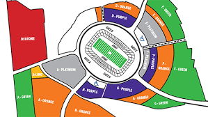 Fedex Field Seating Chart Fedexfield Seat View Redskins Fedex Stadium Seating Chart