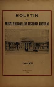 Tomo 21 by Museo Nacional de Historia Natural issuu