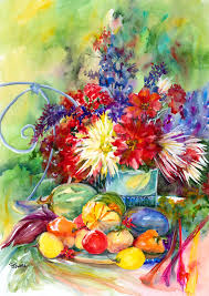 Flowers - priscilla powers, artist