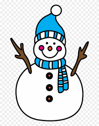 Print the large snowman template for crafts and print the smaller template with the colored images as an example for colors. How To Draw A Snowman Winter Fun Christmas Things To Draw Clipart 760402 Pinclipart