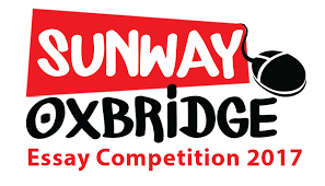 sunway oxbridge essay competition  open to form 1 5 n students from government and private schools using n education syllabus