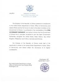 Letters Of Office Ghana Letter Of Intent To Join Ogp Open Government Partnership