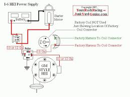 basic chevy hei wiring diagram diy enthusiasts wiring diagrams \u2022 Starter Solenoid Wiring Diagram at Gm Distributor Wiring Diagram Without Starter Relay