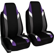 fh group bucket seat cover purple fb133purple102