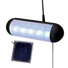 Solar Garage Lighting