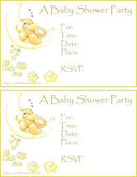 Free Editable Baby Shower Invitation Templates Safari Template
