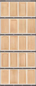 popular cabinet door styles finishes